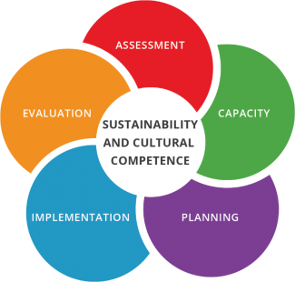 Sustainability and Cultural Competence graphic